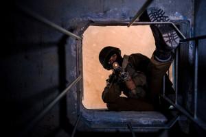 Rimon-Tunneltraining Bild: IDF Bildlizenz