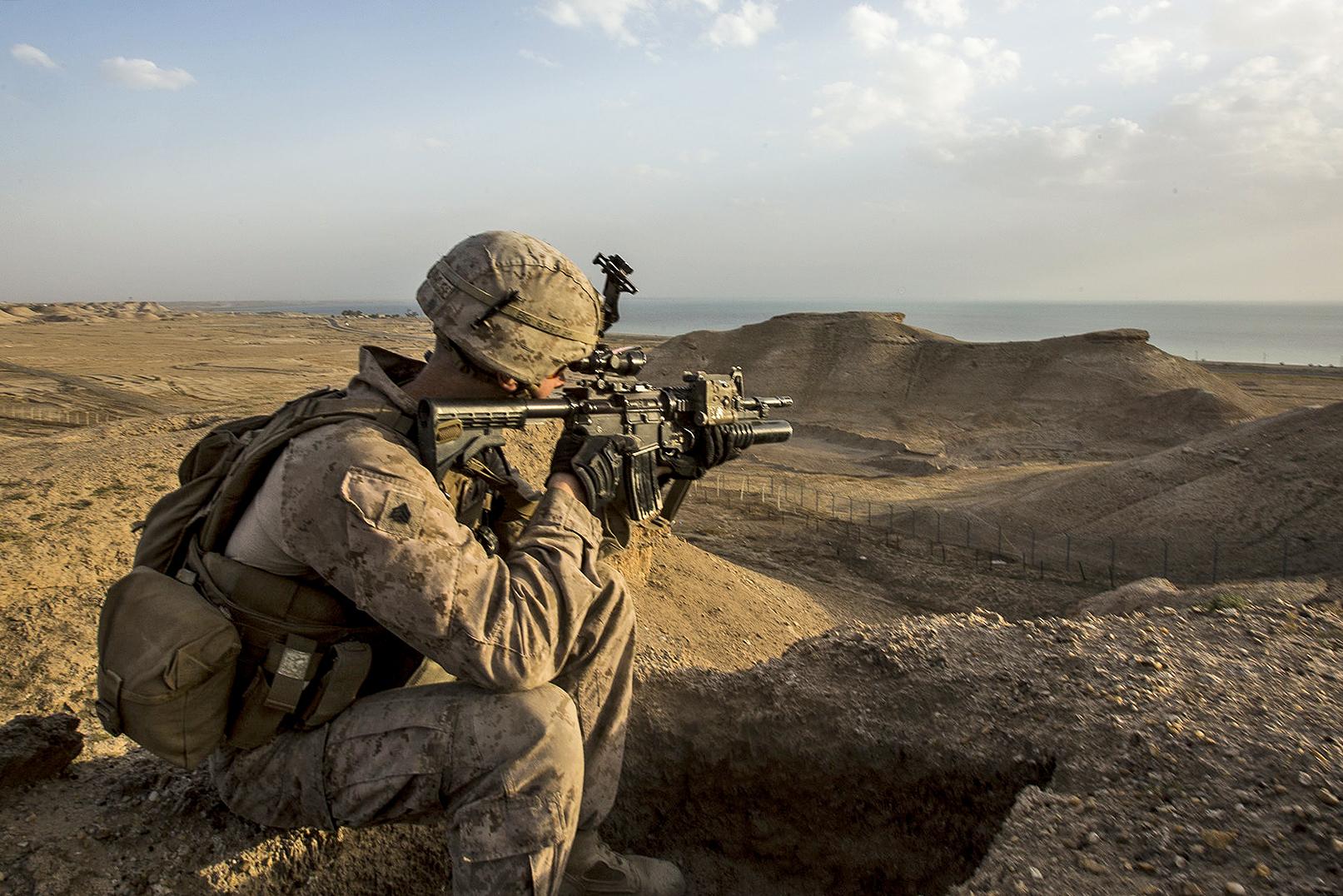 Razzien, Rückzug und Rückeroberung im Anti-IS-Kampf ...