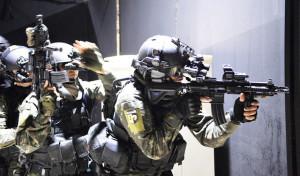 Anti-Terror-Übung am 10. Mai 2016 in Goiania – GO. Bild: Gilberto Alves/Ministério da Defesa Bildlizenz